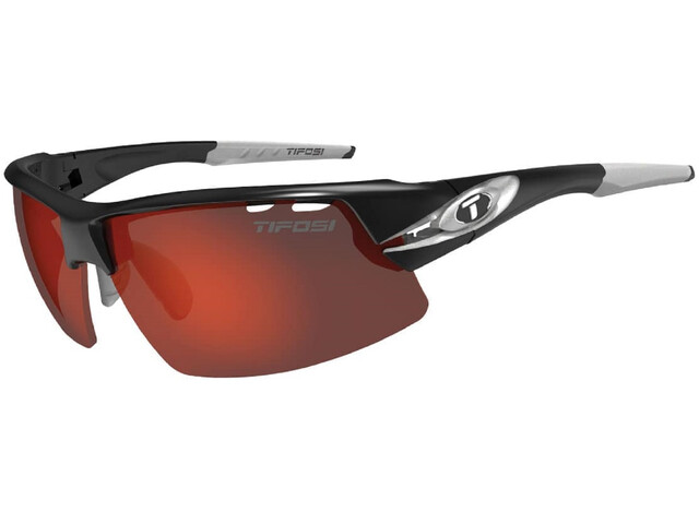 Tifosi Crit Lunettes Homme, race silver - clarion red/ac red/clear